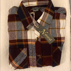Women's Flannel, NWT